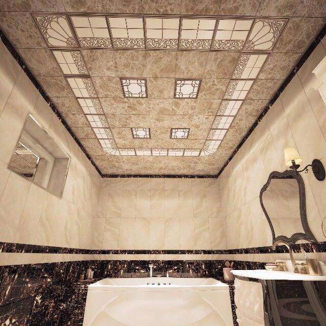 aluminium asma tavan şebeke